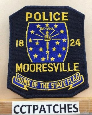 Mooresville, Indiana Police Shoulder Patch In
