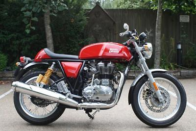 Royal Enfield Continental Gt In Red, 535 Cc Single Cylinder Continental Gt