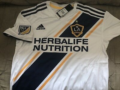best website 5e981 56282 ZLATAN IBRAHIMOVIC LA Galaxy White Jersey Shirt Brand New (Medium)