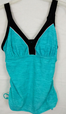 300f855c2e318 GERRY WOMENS COLORBLOCK Tankini Swimsuit TOP Lt Orchid or Mulberry ...