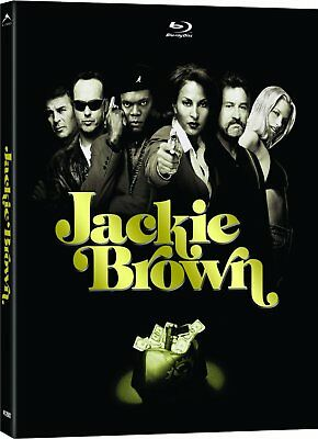 Jackie Brown [DigiPack / Blu-ray + DVD] New and Factory Sealed!!