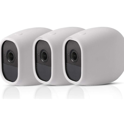 3-pack Silicone Skin Protective Case Cover for Home Security Wireless Camera NEW