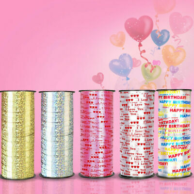 100 Yard Balloon Curling Ribbon Wedding Party Decor Wrap Rope for Gift Wrap