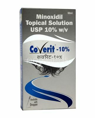 Coverit - 10% Minoxidil For Hair Loss Regrowth Promoter For Men