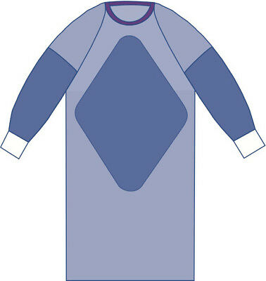 Sterile Fabric- Reinforced Aurora Gowns with Raglan Sleeves