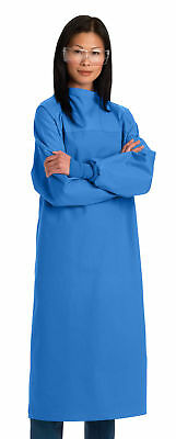 Medline SteriCloth Critical-Coverage Gown,Ceil Blue,Large-MDT012062L, Pack of 12