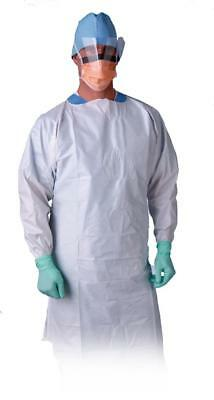 Over-the-Head Microporous Breathable Isolation Gowns
