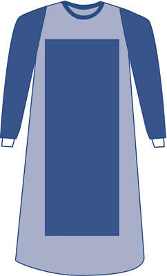 Sterile Poly-Reinforced Aurora Surgical Gown with Breathable Impe