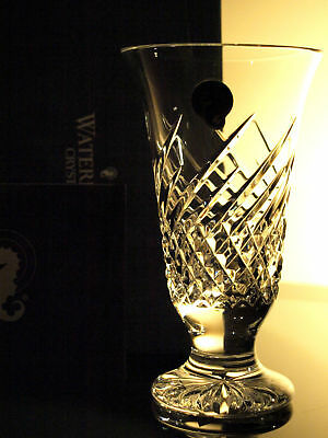 Waterford Crystal Vase Wave 6 Vase Brand New In Box 3000