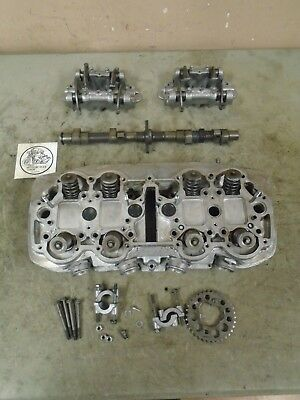 1976 Honda Hondamatic Cb750 Cylinder Head With Camshaft And Rocking Arms
