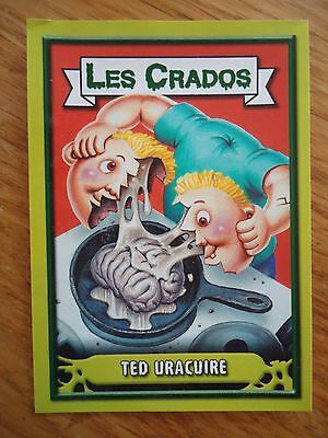 Image * Les CRADOS 3 N°163 * 2004 album card Sticker FRANCE Garbage Pail Kid