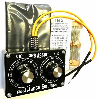 Airbag Resistance Too High Resistor Ohms Substitution Box Bypass Resistors Kit