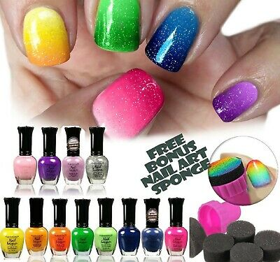 12 KLEANCOLOR NEON Nail Polish Lacquer 15mL Choose Your Shade ...