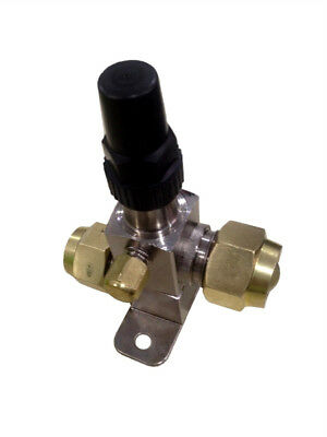 Refrigeration 3/4'' Service Valve With 1/4'' Access Valve - Flare - Rf722B
