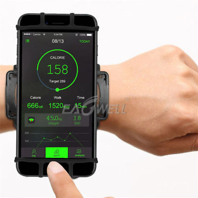 Universal Phone Holder Workout Running Gym Jogging Sport Wristband 180 Rotatable