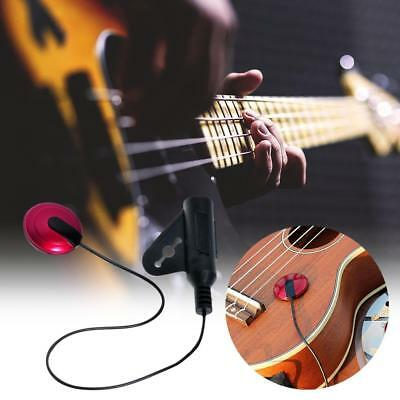 1Pcs Acoustic Piezo Contact Microphone Pickup for Guitar Violin Accessories Nice