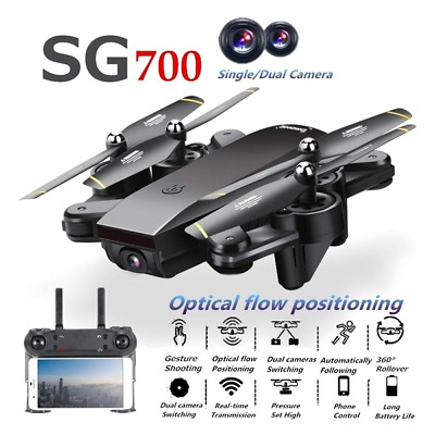 Upgraded SG700 Quadcopter Single/Dual HD Camera Optical Flow Positioning Drone