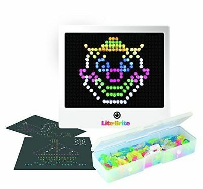 lite brite magic screen set pegs templates storage tray light bright box hasbro