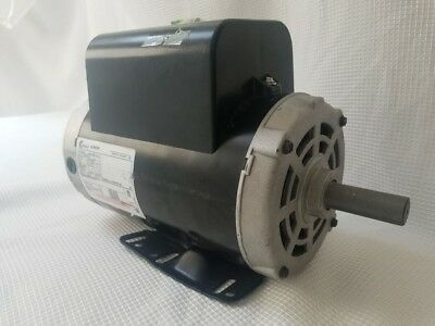 NEW 3 HP 3450 RPM Air Compressor 60 Hz Electric Motor 115-230 Volts B Century Ac Motor Wiring Diagram on