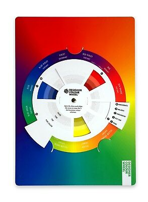 Designer Colour Wheel. The best tool to learn and apply Colour Theory