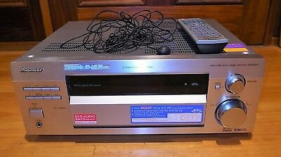 Pioneer VSX-D912 Receiver 7.1 Channel Integrated Amplifier, Remote and MCACC Mic