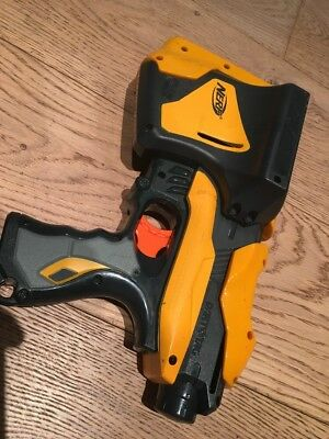 Nerf Dart Tag Speedload 6 Gun Built In Magazine With 6 Ammo Tested Fully Working