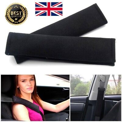 2x Car Seat Belt Pad Harness Safety Shoulder Strap BackPack Cushion Covers kids