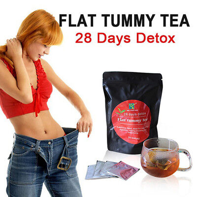 KE_ 28 Days Detox Weight Loss Tea Health Diet Slimming Aid Burn Fat Thin Belly