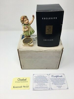 "Goebel Hummel ""Forever Yours"" 793 Figurine with Box & Papers"