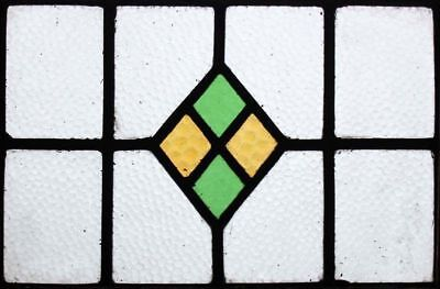 Pretty Original Art Deco English Stained Glass Window