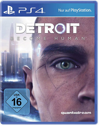Detroit: Become Human Playstation 4 PS 4 deutsche Version