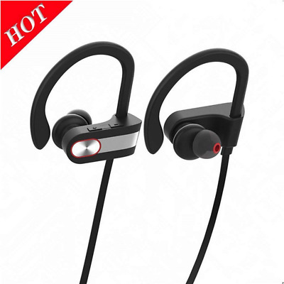 Bluetooth Headphones Wireless Earbuds IPX6 HD Stereo Sweatproof Earphones &Mic