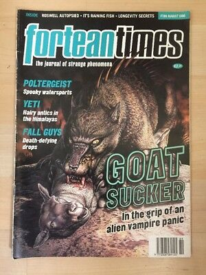 Fortean Times Magazine FT 89 August 1996