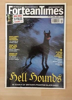 Fortean Times Magazine FT195 April 2005 Hell Hounds
