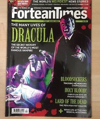 Fortean Times Magazine Jan 2010 FT257 Dracula