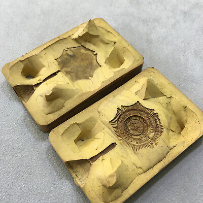 Vintage CITY OF NEWARK POLICE DEPARTMENT STATE OF NEW JERSEY  Charm JEWELRY MOLD