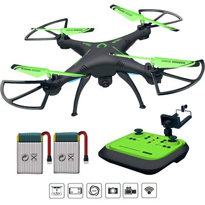 RC Drone FPV Quadcopter One-key Land Headless Mode Camera Live Video 720P HD NEW