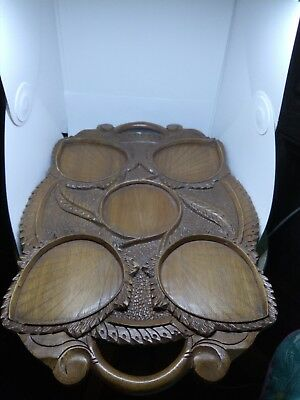 Black forest Carved Tray