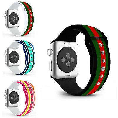 Designer Replacement Watch Straps For Apple iWatch Series 3 38mm/42mm