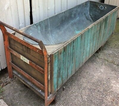 19th Century Copper Bathtub