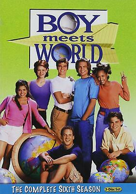 Boy Meets World: The Complete Sixth Season DVD 2011 - 3-Disc Set