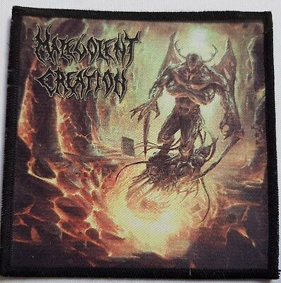 Malevolent Creation - Invidious Dominion -  printed patch - FREE SHIPPING