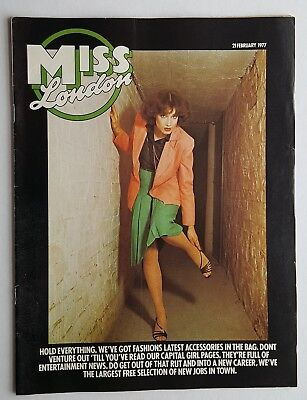 Miss London Magazine 21st February 1977 Free P&P to UK.