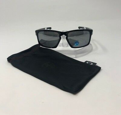 ffb21cc0e83 100% Authentic Oakley Sliver Rectangular Polished Black Gray Polarized  OO9262-09