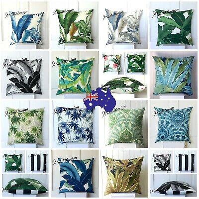 Tommy Bahama Indoor/Outdoor Tropical Palm Leaves Cushion/Pillow covers