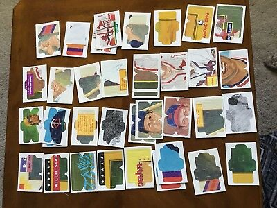 Lot Of Leaf Diamond King Puzzle Baseball Cards Various Players