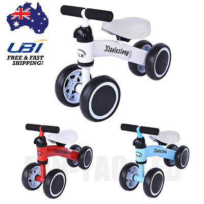 Kids Baby Toddler 3 Wheels Bicycle Tricycle Balance Bike Scooter Ride On Toy AU