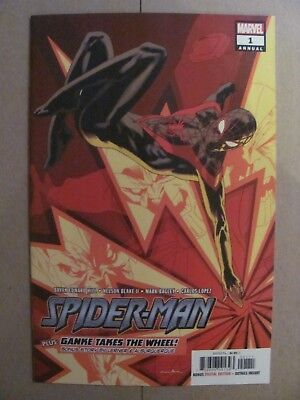 Spider-Man Annual #1 Miles Morales 2018 Marvel Comics 9.6 Near Mint+