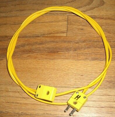 Omega K-Type Extension Wire 50 Inches (1.2 m) for Fluke 51 52 53 54 II