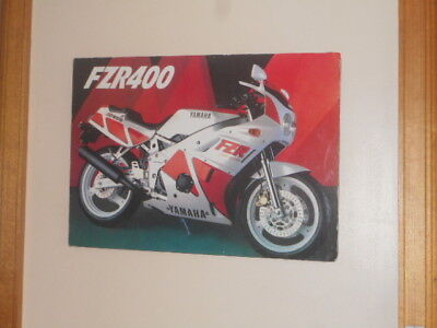 Yamaha FZR400 mounted picture : pick-up only from Brighton in Melbourne